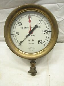 Jas P Marsh Altitude Steampunk Industrial Tool American Well Works Aurora Ill