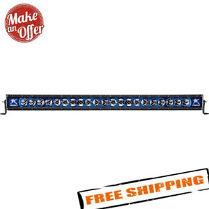 Rigid Industries Radiance 40 Led Light Bar With Blue Backlight 240013