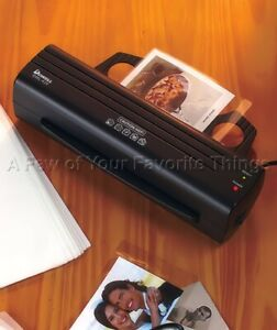 Heat Laminator Machine Office Business Recipe Card Photo Craft School Projects