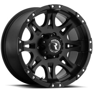 4 18 Inch Raceline 981 Raptor 18x9 6x139 7 6x5 5 25mm Matte Black Wheels Rims