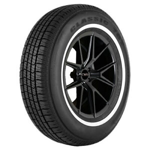 4 P225 70r15 Vercelli Classic 787 100s White Wall Tires