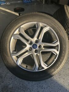 Used 2015 18 Ford Edge Oe Wheels 19x8 5 4 5 52 5 Hyper Gray With Tires And Tpms