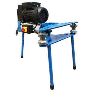 2 Electric 10 Ton Hydraulic Pipe Tube Bender Bending 6 Dies 1 2 2 110v 60hz