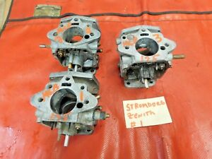 Mgb Jaguar Stromberg Zenith Cd175 Carburetor Body Water Choke Style