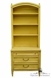 Basic Witz French Provincial Cream Yellow Painted 32 Three Drawer Chest W