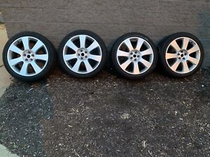 22 Inch Oem Factory Wheels Tires Autobiography Land Range Rover Continental