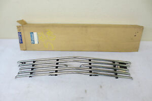 Nos 1963 Ford Galaxie Fairlane Cal Custom Half Tube Grille Grill Accessory