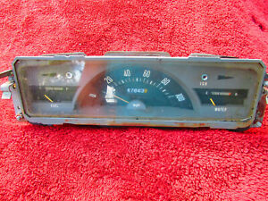 1969 1970 1971 Datsun 521 Pickup Truck 1300 Speedometer And Gauge Assembly