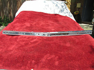 1963 1964 Cadillac Center Stainless Steel Grill Trim