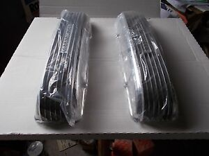 Offenhauser Offy Cadillac Valve Covers 1949 62 Polished Finned Aluminum