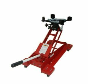 1 2 Ton Floor Low Profile Transmission Tranny Jack Lift 1 000 Lbs Capacity
