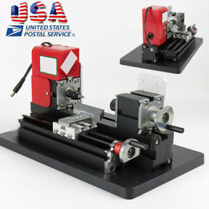 20krpm Mini Wood Lathe Machine Saw For Home Diy Crafts Drilling 135 35mm Wood Us
