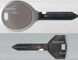 Replacement Key Blank Fits Many Chrysler Dodge Jeep Car Models