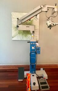 Carl Zeiss Pro S3 Opmi Magis Surgical Microscope With Foot Pedal
