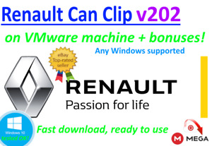 Renault Can Clip 200 New Version On Vmware Machine Bonuses
