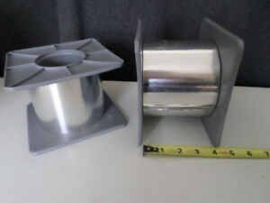 3m 425 Aluminum Foil Tape 4 X 60 101mm X 54 8m One Roll W Plastic Core Plug