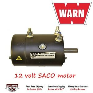 900548 Warn 12 Volt Dc Electric Winch Motor Tabor
