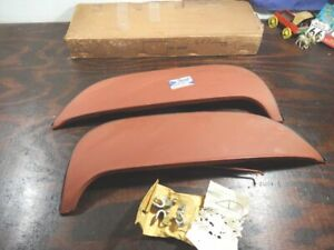 Nos 1965 Ford Fairlane Only Fender Skirts exc Wagon Fws 65f Sk82