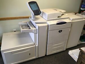 Xerox Docucolor 250 Dc250 Printer Copier With Fiery Rip