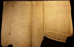 King Louis Xiii Autograph Order To Pay 2 Million 1629