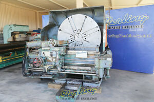 60 Used Lodge Shipley Right Angle T Lathe good Working Condition Comes Wit