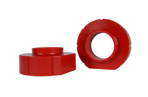 Jeep Xj Zj Tj 1 Red Polyurethane Coil Spring Spacers Perfect Budget Boost Lift