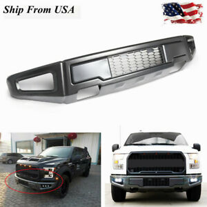 Black Raptor Style Steel Front Bumper Assembly For Ford F 150 F150 2015 2017