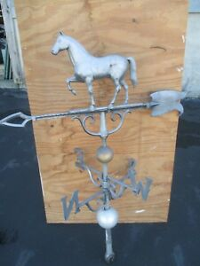 Vintage Metal Horse Weather Vane