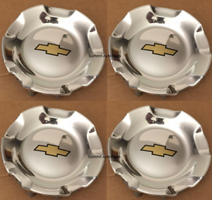 New Chevy Silverado Tahoe Avalanche Suburban Wheel Hub Center Polished Cap