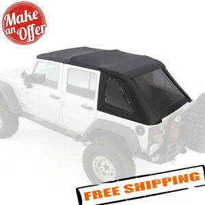 Smittybilt 9083135k Complete Bowless Combo Soft Top For Jeep Wrangler Jk 4 door