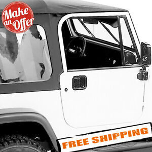 Rampage 68035 Complete Tinted Soft Top Kit For 1987 1995 Jeep Wrangler Yj