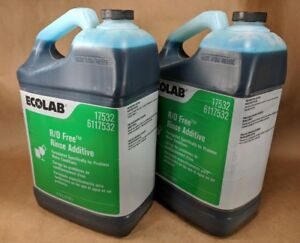 Ecolab Rinse Additive R o Free 17532 Industrial Restaurant Dish Dishes 2 Bottles