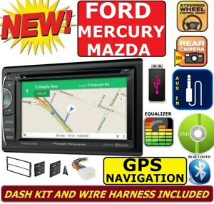 Ford Mercury Mazda Gps Navigation System Cd Dvd Usb Bluetooth Car Radio Stereo