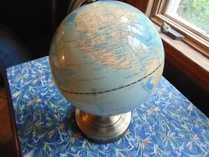 Large Lighted Earth Globe
