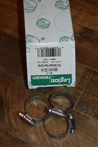 Tridon Legion Hose Clamp 10 Pc Size 16 3 4 To 1 1 2 Stainless Steel