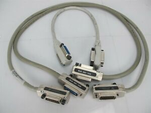 Lot Of 3 Belden Ni Ieee 488 Gpib Cable
