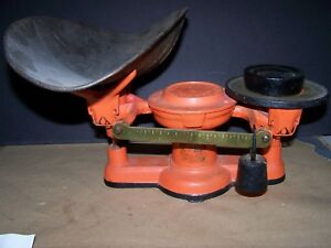 Antique Vintage Cast Iron Balance Scale Howe Scale Co Vermont 1867 Pat Date