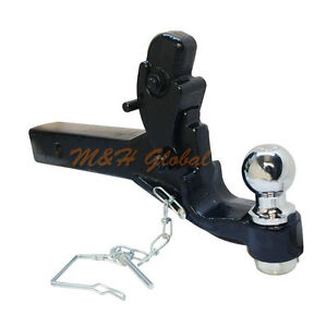 2 Ball And Pintle Hook For 2 Receivers