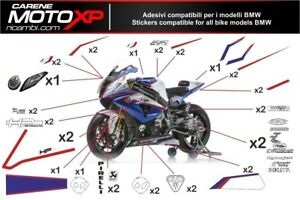 Stickers Decal Moto Compatible With Bmw S 1000 Rr 2009 2014 Sb14