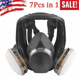 Safety Painting Spraying For 3m 6800 Full Face Dust Gas Mask Respirator Filter