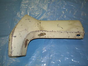 1970 Mercury Cougar eliminator Front Fender Extension Right