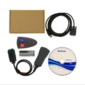 V7 83 Full Chip Usb Diagnostic Tool For Citroen Peugeot Lexia 3 Pp2000 Diagbox