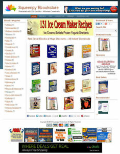 Ebooks Store Fully Automated 200 Ebooks Already Installed passive Income