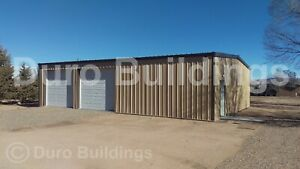 Durobeam Steel 40x72x16 Metal Building Kits Commercial Workshop Warehouse Direct