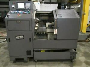 Hardinge Conquest Gt 27sp Cnc Gang Tool Turning Center