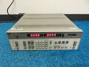 Hp 8903b Audio Analyzer 20hz 100khz