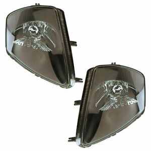 Pair New Left Right Headlight Assembly For Mitsubishi Eclipse 2000 2001 2002