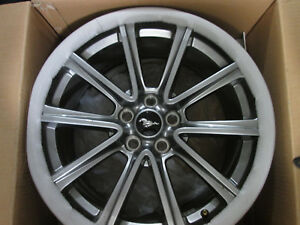 2015 17 Ford Mustang Gt 19 nice Satin Premium Brembo Wheels Rims Wheels Only