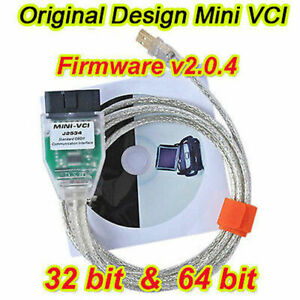 Original Mini Vci Diagnostic Cable Obd For Toyota Lexus Firmware V2 0 4