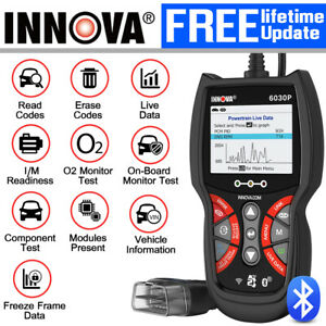 Innova Auto Car Obd2 Diagnostic Tool Abs Color Screen Srs Airbag Emission Test